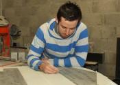 Working on Sculptures